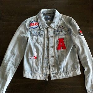 Urban Outfitters Light blue denim jacket